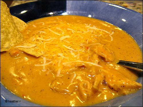 Crockpot Tortilla Cheese Soup