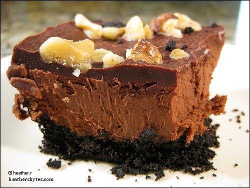 Layered Chocolate Cheesecake Bars