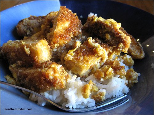 Katsudon – Pork Cutlet Rice Bowl