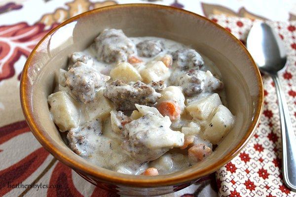 Bratwurst Stew