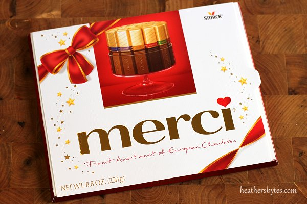 Merci Chocolates for the Holidays